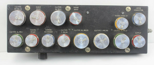 Control Unit Type B.MK.15S 8B/5346 Ferranti Junction RAF Vintage Aircraft Part