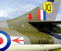 Skin 26FX/1862 D.185811/3 Hawker Hunter Nosing Fuselage Panel RAF Aircraft