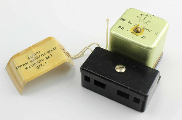 Magnetic Switch Relay Waymouth RA3 5CW/2007 5C/2007 RAF Vintage Aircraft Spare