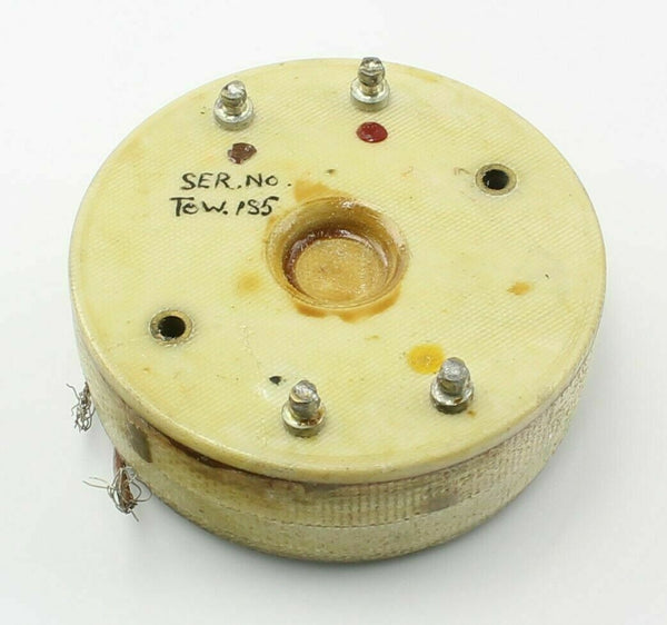 Suppressor 5UB/7535 10E/4902 G.E. Mortley Electrical RAF Vintage Aircraft Part