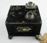 Motorised Selector & Follow-Up Resistor 5CZ/5623 Handley Page Victor XA924 RAF