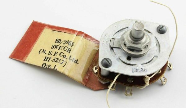 Rotary Switch Armament 8B/2865  N.S.F. H1-5217 RAF Vintage Aircraft Spares