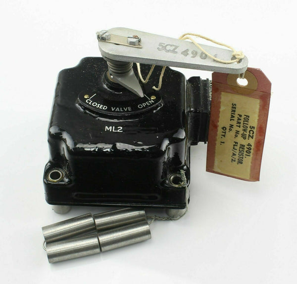 Follow-Up Resistor ML2 5CZ/4901 FIJ/A/2 Teddington RAF Vintage Aircraft