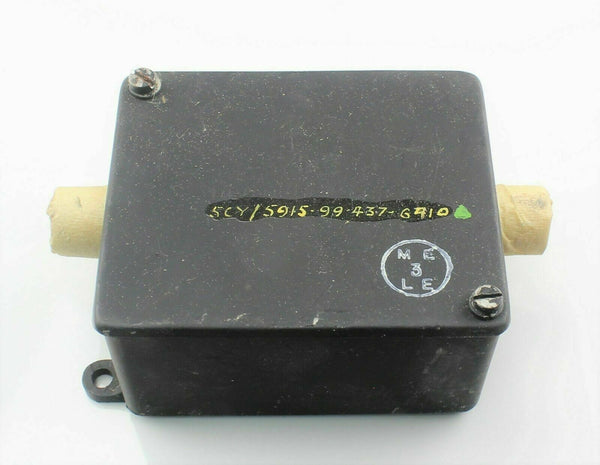 Radio Interference Suppressor Type F 5C/2682 5CY/5915-99-437-6910 RAF Aircraft