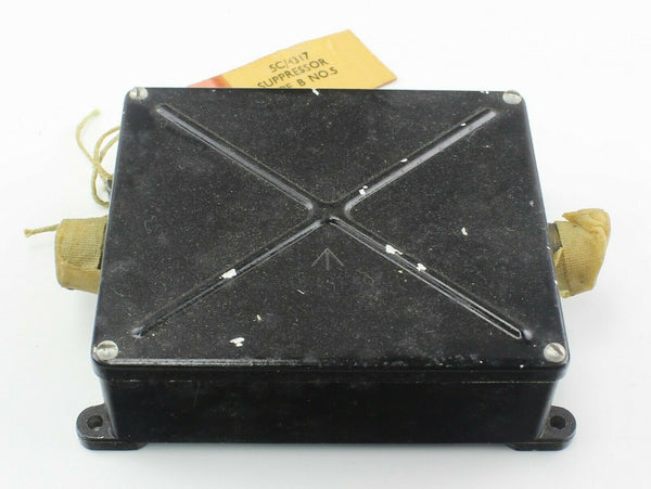 Suppressor Box Type B No. 5 5C/4317 Spitfire RAF AM Vintage Aircraft Spare