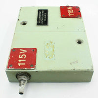 Low Pass Double Lighting Filter 5915999723916 115V E58-4-1-41(S) Ex-RAF Aircraft