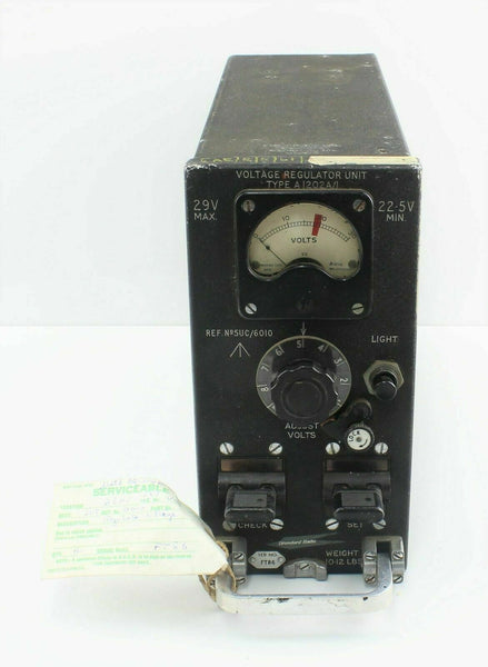 Voltage Regulator Type A1202A/1 5UC/6010 Standard Radio RAF Vintage STR18