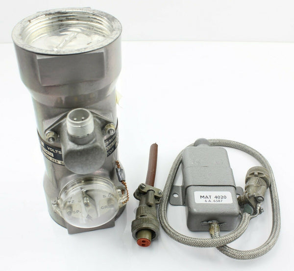 Transmitter c/w Suppressors 6A/5472 Flow Rate George Kent RAF Vintage Aircraft