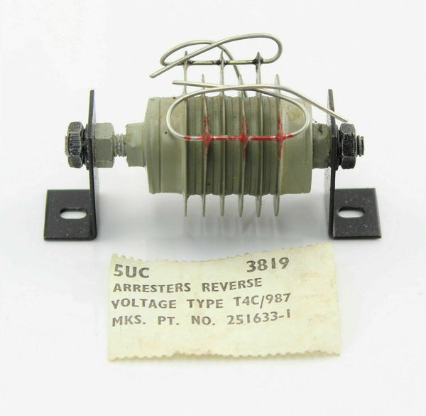 Voltage Arrester Reverse Type T4C/987 5UC/3819 251633-1 Ex-RAF Aircraft Spare