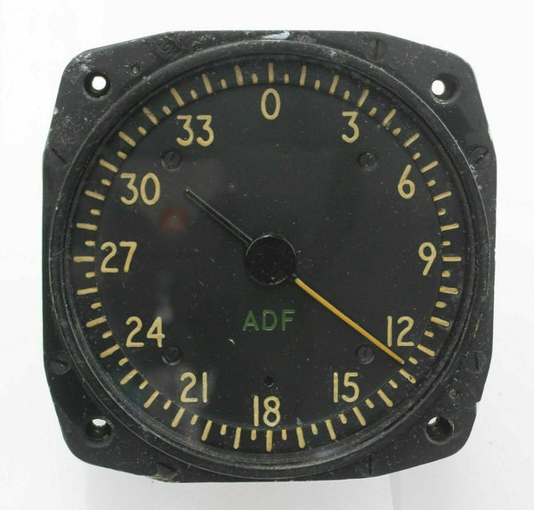 Automatic Direction Finder Indicator 9550 10Q/16356 RAF Vintage Aircraft Spare