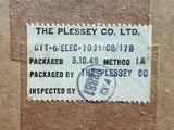 Fuse Block 4-Way 5X/2956 Plessey Royal Air Force MOD Vintage Aircraft Spare 1949