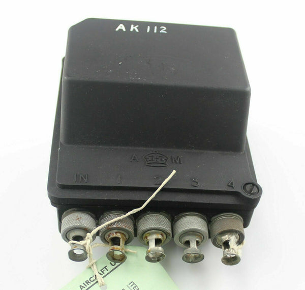 Switch Auto Selector 5D/632 Air Ministry Ex-RAF Vintage Aircraft Weapons Spare