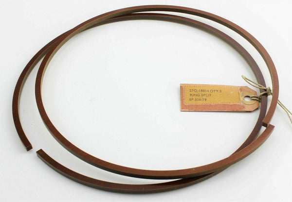 2 x Undercarriage Piston Split Ring 27Q/18834 SP836-79 Hydraulic Vintage A/C