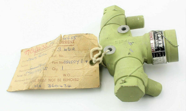 Sequence Valve 08950YB04 27Q/1633 Dowty Rotol RAF Vintage Aircraft Part