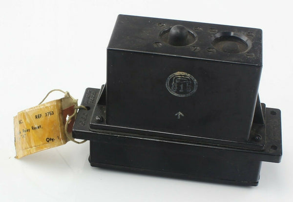 Switch Relay Reset Type A 5CW/3753 1959 Bakelite Case RAF Vintage Aircraft Part
