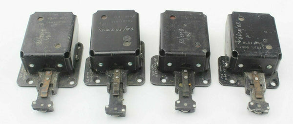 4x Position Switches 8B/3398 MLS11940 Ex-RAF Vintage Aircraft Part