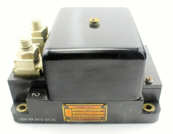 Rotax Switch Thermal Unit D8513 5CW/4407 Avro Vulcan RAF Vintage Aircraft Part