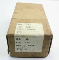 Cover Assembly 5D/1796 RAF Armament Weapons Electrical Vintage Aircraft Spare