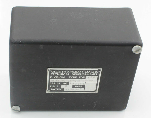 Control Box Cover 5CZ/5507-13 142/1/10 Gloster RAF Vintage Aircraft Part