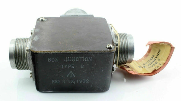 Junction Box Type 8 5X/1932 Royal Air Force Air Ministry Vintage Aircraft Spare