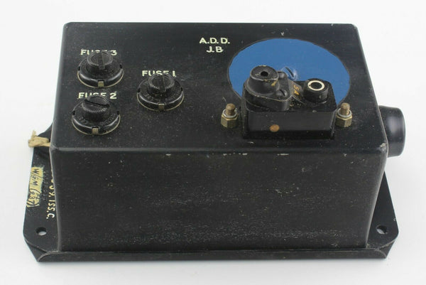ADD Junction Box B.265539 Fuse & Circuit Breaker RAF Vintage Aircraft Part