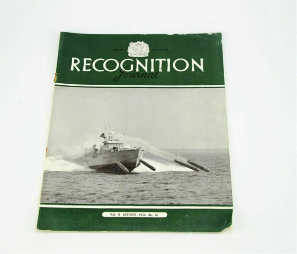 Joint Services Recognition Journal Vol 11 October 1956 No. 10