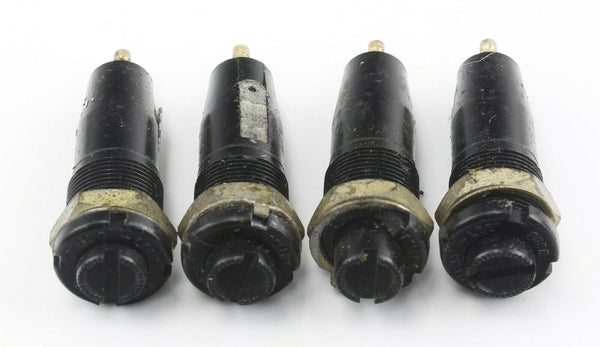 4x Fuse Holders 059-0100 L1348 Size O Belling-Lee Ex-RAF Vintage Aircraft Part