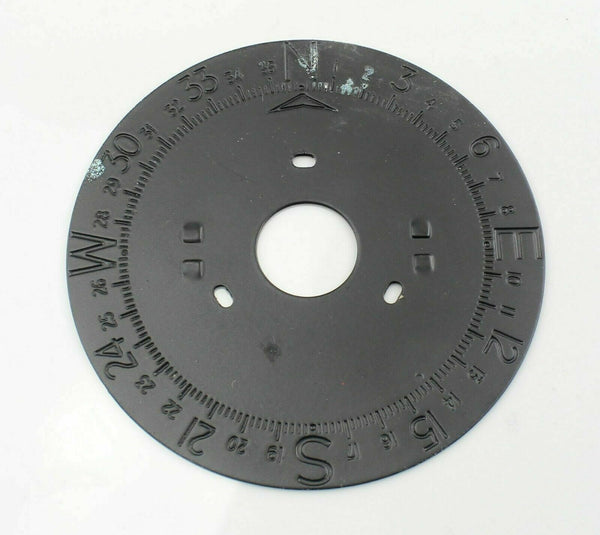 Compass Dial 6BB/1034 Non-Luminous Instrument Gauge RAF Vintage Aircraft Spare