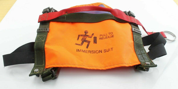 Immersion Suit Grab Handle Release Ditching RAF Aircraft Fleet Air Arm Safety