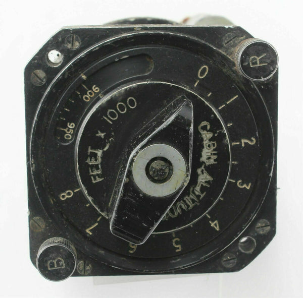 Cabin Altitude Pressure Setting Unit Normalair Cockpit RAF Vintage Aircraft Part