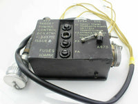 Aerial Target Towing Control Box C.305771 B C305774/1 RAF Vintage Aircraft Spare
