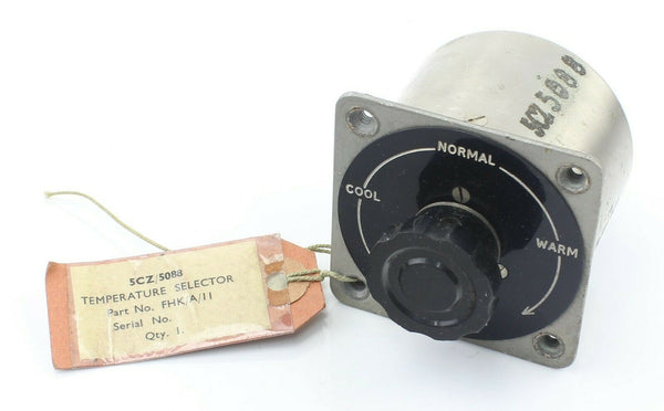 Temperature Selector FHK/A/11 5CZ/5088 Variable Resistance RAF Vintage Aircraft