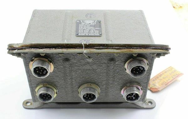 Graviner Firewire Relay Box 5CZ/5280 D1040 115V 400~ Fire Protection RAF Vintage