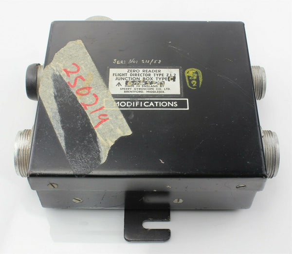 Zero Reader Z.L.2 Junction Box Type 3 6A/5233 Sperry RAF Vintage Aircraft Part