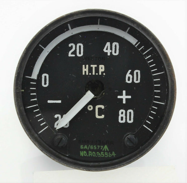 Temperature Indicator Gauge S149-1-136 6A/6577 Handley Page Victor RAF Aircraft