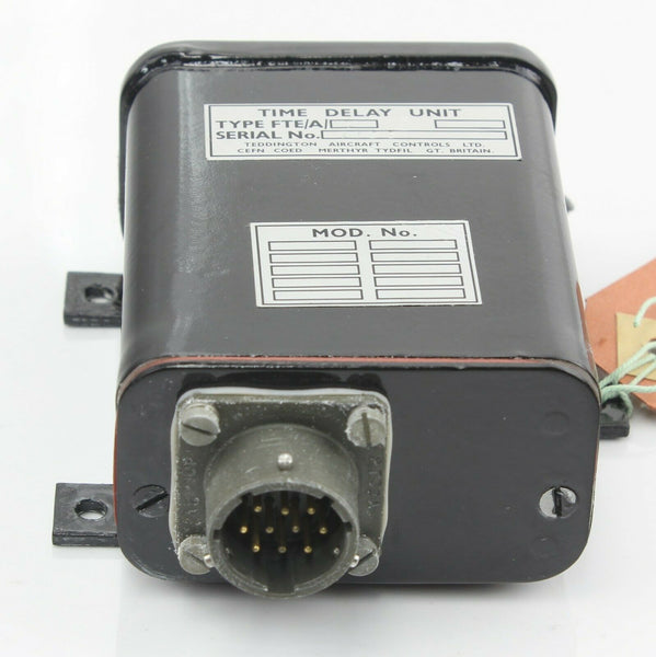 Time Delay Relay Unit 5D/2561 FTE/A/7 dH Sea Vixen Royal Navy Aircraft Part