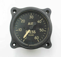 Direct Pressure Gauge Air Model 401PG 0-6000 LB Smiths RAF Aircraft Spare