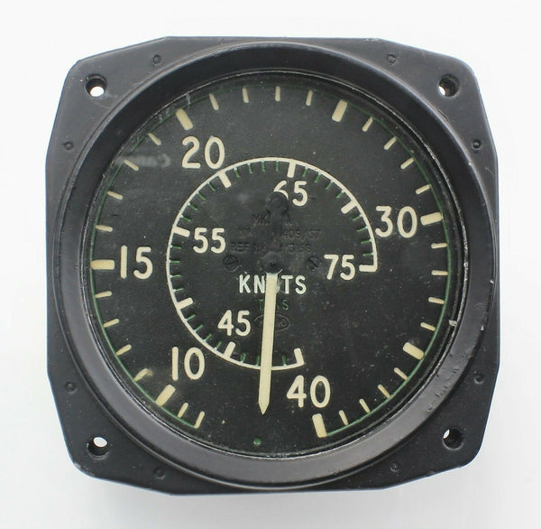 Hawker Hunter ASI Airspeed Indicator Mk.12A 6A/3158 6A/4333224 750 Knots RAF