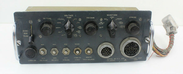 Control Unit Box 4162 10L/16201 Radio Radar Waveform RAF Vintage Aircraft Part
