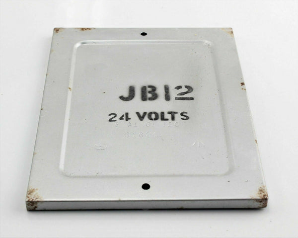 "Canberra Junction Box Cover 5X/6241 ""JB12 24 VOLTS"" EA1-81-120 RAF Aircraft"