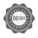 60 Day Money Back Guarantee Seal