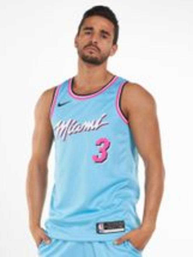 Canotta Miami Heat City Edition Azzurro - Provehito