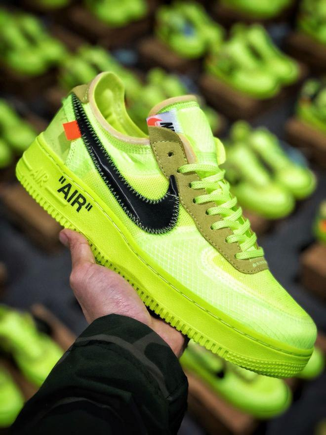 Nike Air Force OFF-White Volt - Provehito