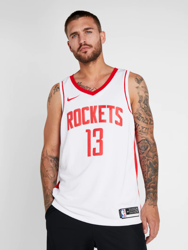 Canotta Houston Rockets Bianca - Provehito