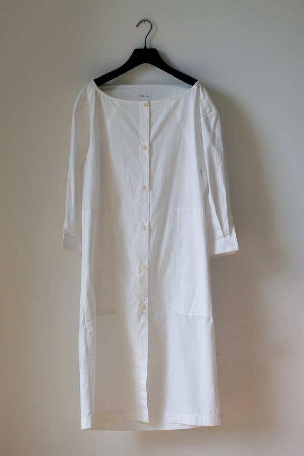 SAMPLE: Shirtdress No. 26 (Vintage White)