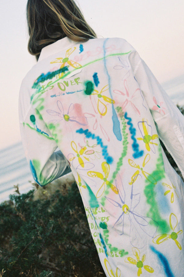 Ryder Jones + Sherie Muijs: Painted Shirtdress No. 08