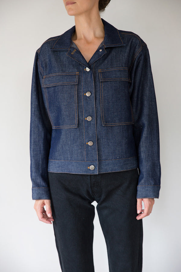 ARCHIVE: Jacket No. 17 (Washed Denim)