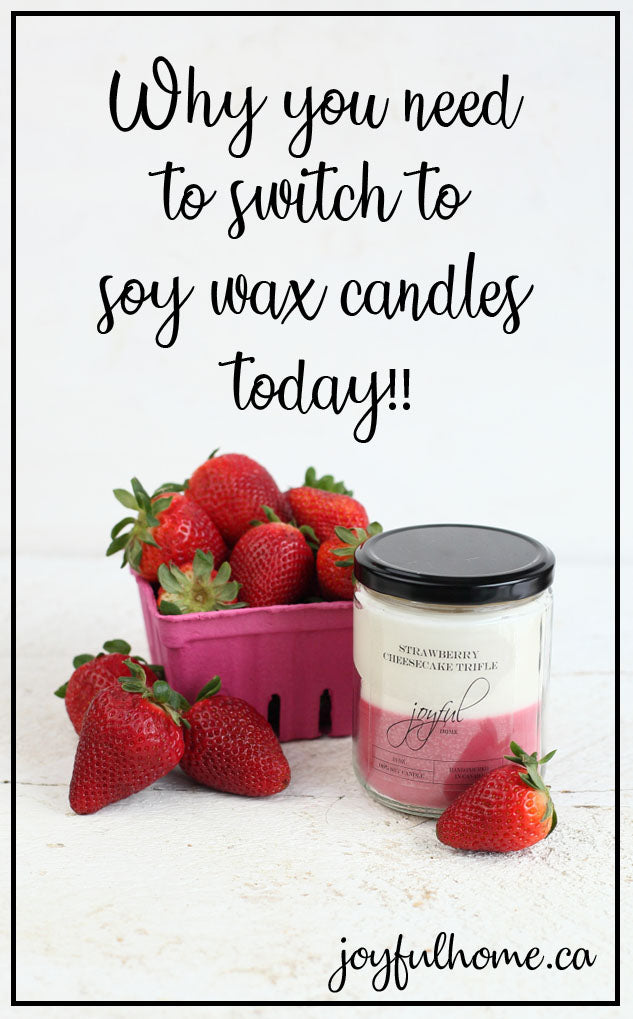 Why you need to switch to soy wax candles today