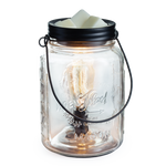 Mason Jar Edison Bulb Illumination Fragrance Warmer