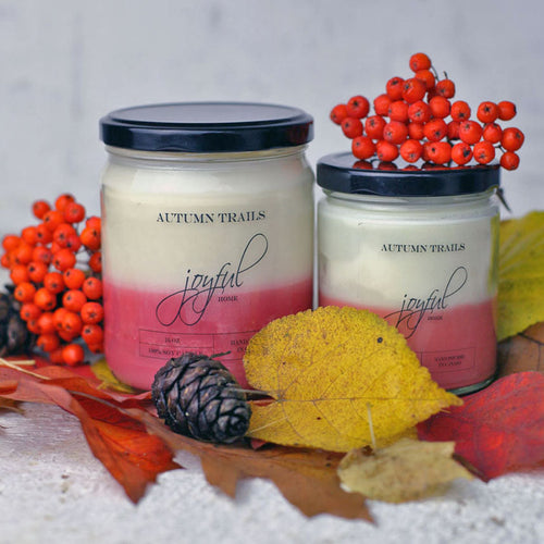 Autumn Trails Soy Candle - Joyful Home Inc.